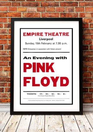 "Pink Floyd – ""Empire Theatre' Liverpool UK 1974"