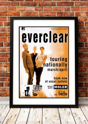Everclear – 'So Much For The Afterglow' Australian Tour 1996