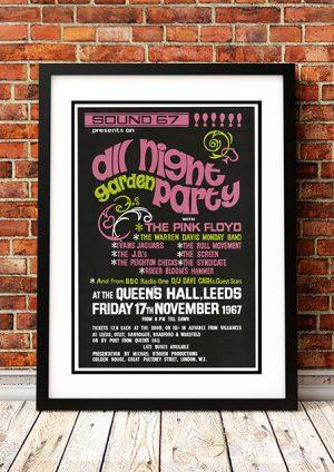 Pink Floyd 'Queens Hall' – Leeds UK 1967