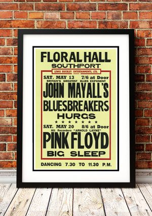 John Mayall / Pink Floyd – 'Floral Hall' Southport UK 1967