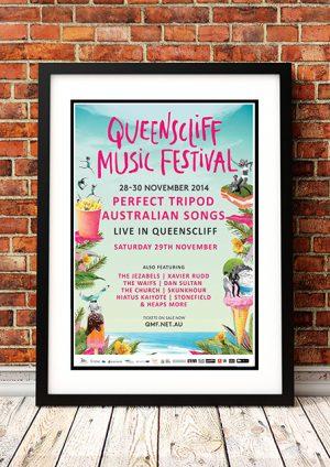 Church / Jezabels / Xavier Rudd 'Queenscliffe Music Festival' – Victoria Australia 2014