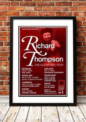 Richard Thompson – 'The Old Kit Bag' Australian Tour 2003