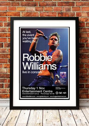 Robbie Williams – 'Sing When Your Winning' Perth Australia 2001