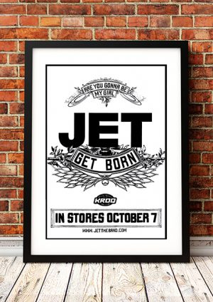 Jet – 'Get Born' In-Store Poster 2003