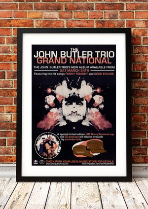 John Butler – 'Grand National' In-Store Poster 2007