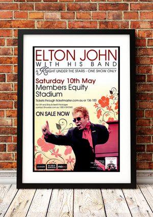 Elton John – 'A Knight Under The Stars' Perth Australia 2008