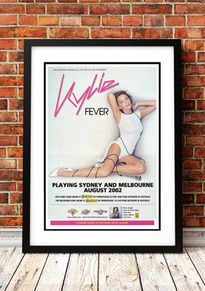 Kylie Minogue – 'Fever' Sydney And Melbourne Australia 2002