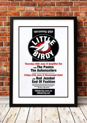 Little Birdy – Perth Australia 2005