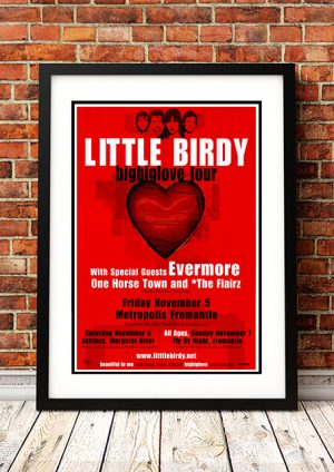 Little Birdy / Evermore – 'Big Glove' West Australian Tour 2004
