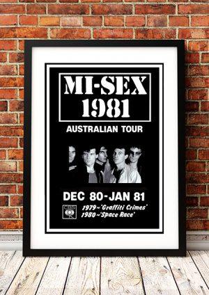 Mi-Sex – Australian Tour 1981