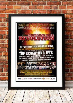 Screaming Jets / Highway Blonde – Australian Tour 2010