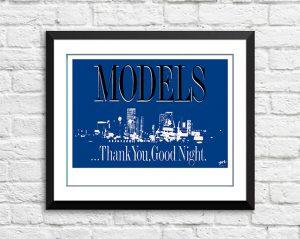 Models – 'Thankyou Good Night' Australian Tour 1988