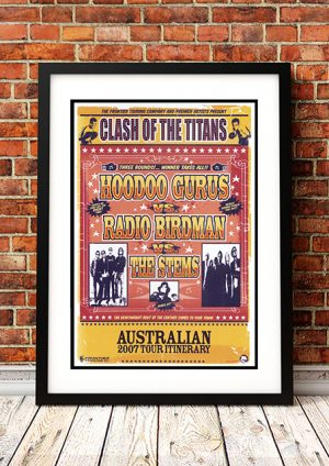 Hoodoo Gurus / Radio Birdman / The Stems – 'Clash Of The Titans' Australian Tour 2007