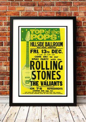 Rolling Stones / The Valiants – 'Hillside Ballroom' Hereford UK 1963