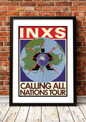 INXS 'Calling All Nations' World Tour 1987