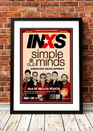 INXS / Simple Minds 'Perth' Australia 2007