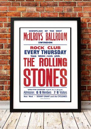 Rolling Stones – 'McIlroys Ballroom' Swindon UK 1964
