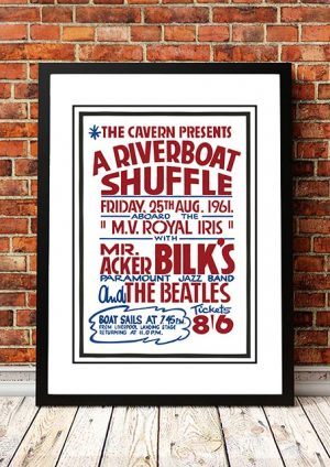 The Beatles (as Support Band) / Acker Bilk 'Riverboat Shuffle' Liverpool, UK 1961