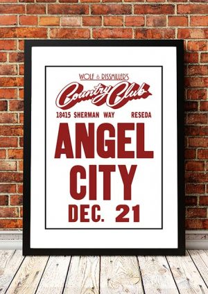 Angel City (The Angels) 'Wolf & Rissmiller's Country Club' Reseda, USA 1980