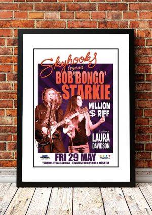 Skyhooks 'Bob Starkie / Laura Davidson' Melbourne, Australia 2013