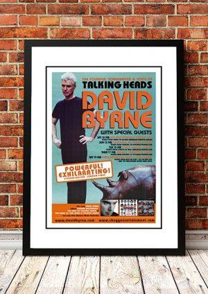David Byrne (Talking Heads) Australian Tour 2018