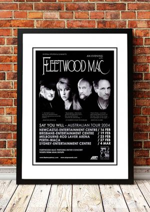 Fleetwood Mac 'Say You Will' Australian Tour 2004