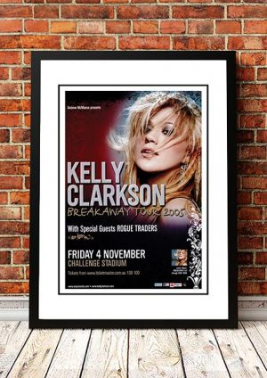 Kelly Clarkson / Rogue Traders 'Breakaway Tour' Perth, Australia 2005