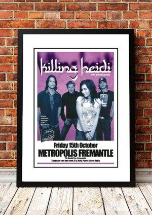 Killing Heidi 'Metropolis' Fremantle, Australia 2004