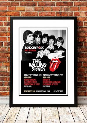 The Rolling Stones 'School Of Rock' Port Jefferson, USA