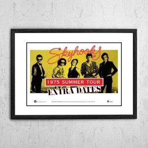 Skyhooks 'Summer Tour' Australia 1975