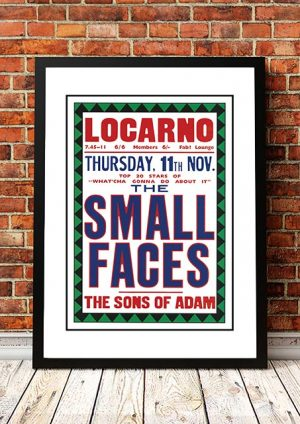 Small Faces / The Sons Of Adam 'Locarno' Swindon, UK 1965