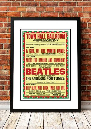 The Beatles / The Fabulous Fortunes 'Town Hall Ballroom' Abergavenny, UK 1963