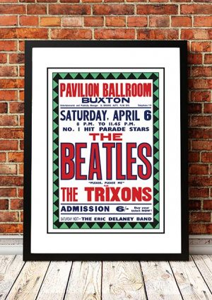 The Beatles / The Trixons 'Pavilion Ballroom' Buxton, UK 1963