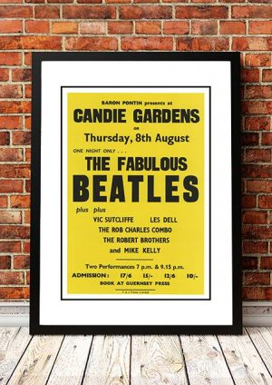 The Beatles 'Candie Gardens' Guernsey, UK 1963