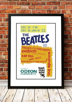The Beatles / Freddy And The Dreamers / The Yardbirds 'Hammersmith Odeon' London, UK 1964