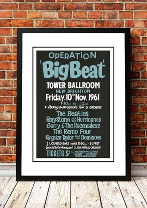 The Beatles / Rory Storm / Gerry And The Pacemakers 'Tower Ballroom' New Brighton, UK 1961