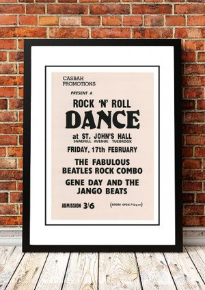 The Beatles 'St Johns Hall' Tuebrook, UK 1961