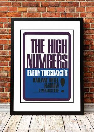 The High Numbers 'Railway Hotel' Harrow, UK 1964