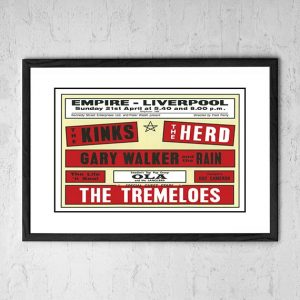 Kinks / The Herd / The Tremeloes 'Empire' Liverpool UK 1964