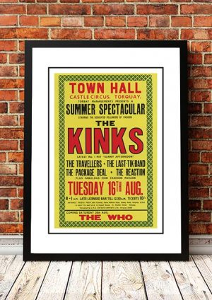 The Kinks 'Town Hall Castle Circus' Torquay, UK 1966