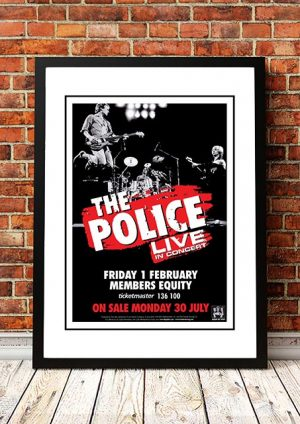 The Police 'Perth' Australia 2008