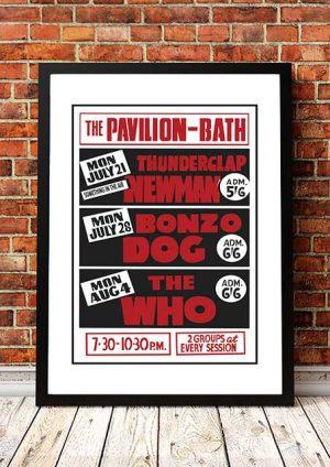 Thunderclap Newman / Bonzo Dog / The Who 'The Pavilion' Bath, UK 1969