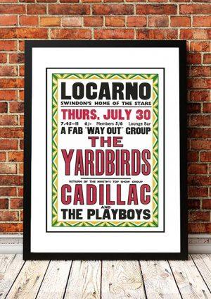 The Yardbirds / Cadillac / The Playboys 'Locarno' Swindon, UK 1964