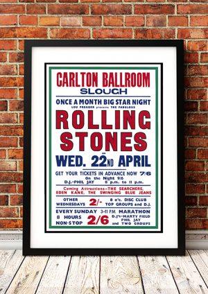 Rolling Stones 'Carlton Ballroom' – Slough UK 1964