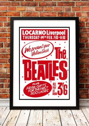 Beatles 'Locarno' – Liverpool UK 1962