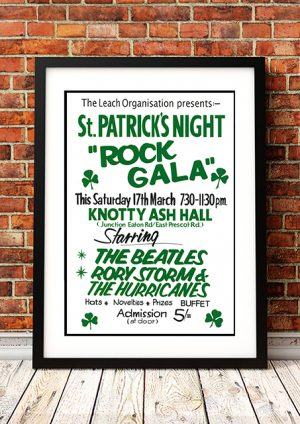 Beatles / Rory Storm And The Hurricanes 'Knotty Ash Hall' – Liverpool UK 1962