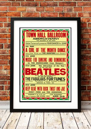 Beatles / The Fabulous Fortunes 'Town Hall Ballroom' – Abergavenny UK 1963