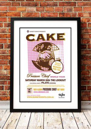 Cake / Pilate 'Pressure Chief' – Perth Australia 2005