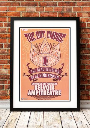 Cat Empire / The Beautiful Girls / Blue King Brown – Perth Western Australia 2008
