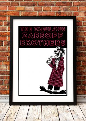 Zarsoff Brothers – 'Gig Poster' Australia 1980